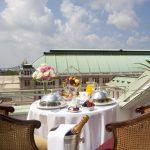 Hotel Bristol Vienna: Champagner Frühstück