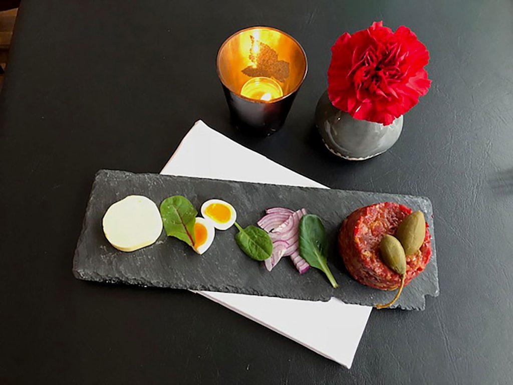 Restaurant Führich: Beef Tartar