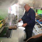 Casa del Vino: Zwiebelrostbraten mit Bratkartoffeln