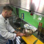Camembert im Strudelteig mit Traubenchutney