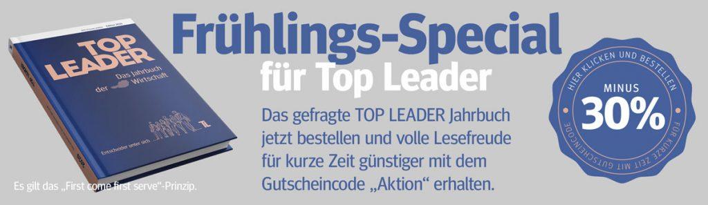 Top Leader - Das Jahrbuch der österreichischen Wirtschaft 2020